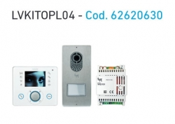 Kit de video porteiro LVKITOPL04 bpt