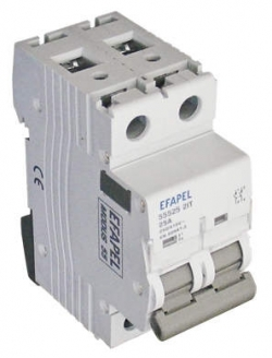 Interruptor - 2P 63 Amp	250/415V~ 50/60Hz Efapel 55563 2IT